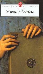 Manuel d'Epictète - Intérieur - Format classique