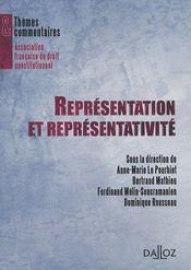Représentation et représentativité - Intérieur - Format classique