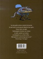 Igor et les trois petits cochons - 4ème de couverture - Format classique