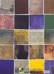Revue noire ; al kinda ; regard sur l'art contemporain arabe - 4ème de couverture - Format classique