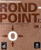 Rond point 3 guide pedagogique - Intérieur - Format classique