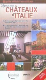 Séjours aux châteaux d'italie (édition 2007-2008) - Intérieur - Format classique