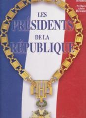 Presidents De La Republique - Couverture - Format classique