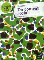 Du contrat social ; livres I et II - Couverture - Format classique
