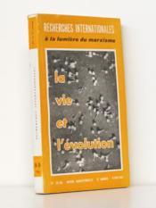 Recherches internationales à la lumière du marxisme. N° 25-26 : 1961 : La Vie et l'Evolution. - Couverture - Format classique