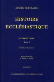 Histoire ecclésiastique t.1 - Couverture - Format classique