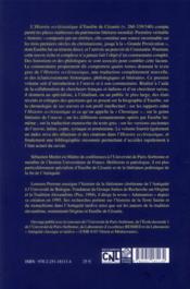Histoire ecclésiastique t.1 - 4ème de couverture - Format classique