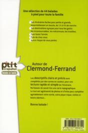 Autour de Clermont-Ferrand - 4ème de couverture - Format classique