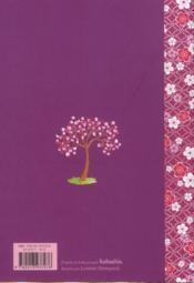 Agenda scolaire kokeshis 2012/2013 - 4ème de couverture - Format classique