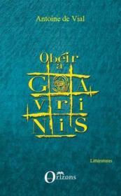 Obéir à Gavrinis - Couverture - Format classique
