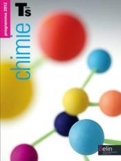 Chimie ; terminale S, enseignement obligatoire - Couverture - Format classique