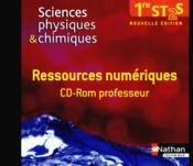 Sc phys chimiques cd rom (rn) - Couverture - Format classique