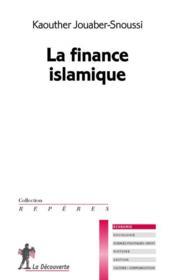 La finance islamique - Couverture - Format classique