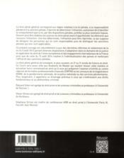 Droit pénal général - 4ème de couverture - Format classique