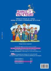 FRANCE-TROTTEUR ; méthode de français ; niveau 3 ; cahier d'activités - Couverture - Format classique