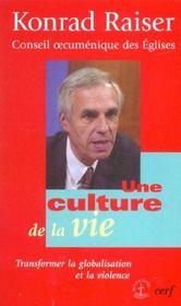 Une Culture De La Vie - Intérieur - Format classique