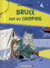 Bruce fait du camping - Couverture - Format classique