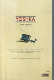 Yoshka - 4ème de couverture - Format classique