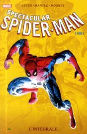 Spectacular Spider-Man ; INTEGRALE VOL.5 ; 1981 - Couverture - Format classique