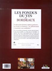 Les fondus du vin de Bordeaux - 4ème de couverture - Format classique