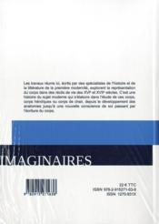 Imaginaires, n 16/2013. corps heroique, corps de chair dans les recit s de vie de la premiere modern - 4ème de couverture - Format classique