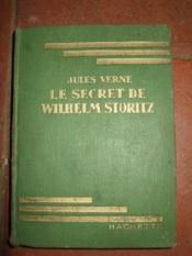 Le secret de Wilhelm Storitz. - Couverture - Format classique