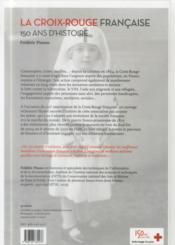 La croix-rouge francaise - 4ème de couverture - Format classique