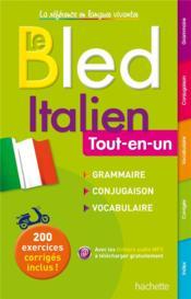 BLED ; tout-en-un ; italien - Couverture - Format classique