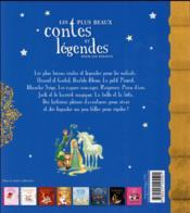 Les plus beaux contes et légendes pour les enfants - 4ème de couverture - Format classique