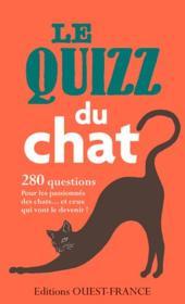 Le quizz du chat - Couverture - Format classique