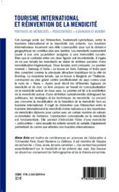 TERRAIN ; tourisme international et réinvention de la mendicité ; portraits de mendicités