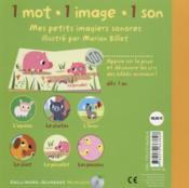 Bébés animaux - 4ème de couverture - Format classique