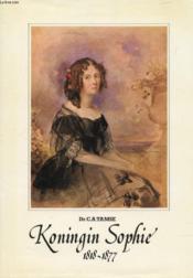 Koningin Sophie, 1818-1877 - Couverture - Format classique