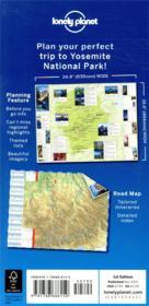 Yosemite national park planning map (édition 2019) - 4ème de couverture - Format classique