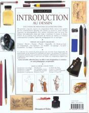 Introduction au dessin - 4ème de couverture - Format classique