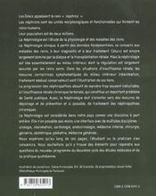Manuel De Nephrologie Clinique - 4ème de couverture - Format classique