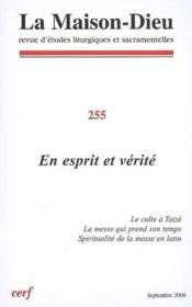 Revue La Maison-Dieu N.255 - Couverture - Format classique