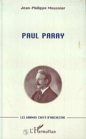 Paul Paray - Couverture - Format classique