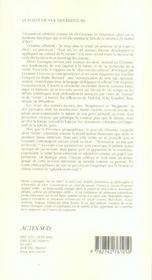 Cezanne en verite(s) - 4ème de couverture - Format classique