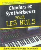 Claviers et synthetiseurs pour les nuls + cd - Couverture - Format classique