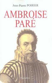 Ambroise Pare - Intérieur - Format classique