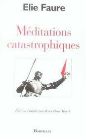 Meditations catastrophiques - Intérieur - Format classique