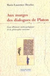 Aux Marges Des Dialogues De Platon - Intérieur - Format classique