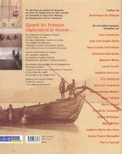 Aventuriers du monde - 4ème de couverture - Format classique