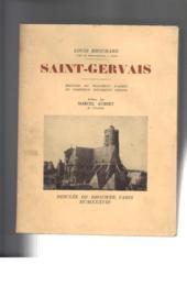 Saint-Gervais. Histoire du monument d'après de nombreux documents inédits. - Couverture - Format classique