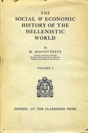 The social & economic history of the hellenistic world. - Couverture - Format classique
