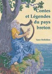 Contes et légendes du pays breton - Couverture - Format classique