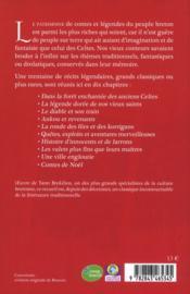 Contes et légendes du pays breton - 4ème de couverture - Format classique