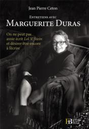 Entretiens avec Marguerite Duras - Couverture - Format classique