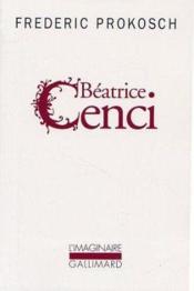 Beatrice Cenci - Couverture - Format classique